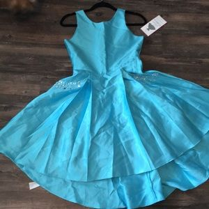 Rare Editions blue party dress